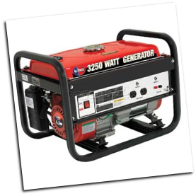 All Power America  3250W 6.5 HP Portable Generator, 120V 12V Output FREE SHIPPING (SKU: APG3012)