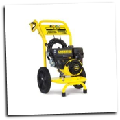 CHAMPION 3000 PSI Pressure washer 1.8 GPM,low oil shutoff,stainless wand adjsustable spray nozzle,25' high pressure hose,CARB compliant,-FREE SHIPPING (SKU: 76525)