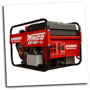 Winco HPS9000VE  TriFuel Generator w/ Electric Start B&S 16 HP Vanguard Engine Low Oil Alert/Shutdown 120 Volt Straight Blade (NEMA 5-20R) 4-20 amp 120/240 Volt Twist Lock (NEMA L14-30R) 1-30 amp EPA FREE SHIPPING (SKU: Winco HPS9000VE-TRI-FUEL-16609-001)