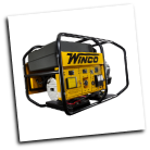 WINCO BIG DOG INDUSTRIAL GEN-WL22000VE/B,19 KW, 31 HP, AVR, ELECTRIC START AVR, 3600 RPM, 80 AMP ANDERSON PLUG, BRUSHLESS ALTERNATOR, BUILT IN AMERICA, COPPER WINDINGS, FUEL GAUGE, GFCI PROTECTION - FULL, HOUR METER-FREE SHIPPING (SKU: WINCO WL22000VE/B 80 AMP-24022-002)