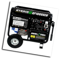 Gentron Duromax XP10,000Wt New-Model,18 Hp Elect Start Battery Included Auto Voltage Reg Hour Meter Wheel Kit Low Oil Shutoff 120/240v 7 Outlets 4x120v 1x120v 1x120/240v 1x12vDC Battery Charger Contractors Home Emergency First Pick 49state  Free Shipping (SKU: .GG10020/Duromax xp10)
