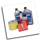 WINCO Maintenance Kit 16200-002 Includes Air Filter, Spark Plug, 2 QT Oil, Sta-Bil, Cloth (SKU: WINCO Maintenance Kit 16200-002)