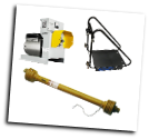 "WINCO W15PTOS[15KW] PACKAGE INCL.PTO-TPH250 -515 RPM 3PT HITCH -300228 SHAFT=SINGLE PHASE, 2 POLE 60A NEMA 14-60P FULL POWER PLUG LARGE 3"" VOLTMETER-CAST IRON GEAR CASE WITH 515 RPM 1 3/8"" SPLINE INPUT SHAFT -FREE SHIPPING (SKU: WINCO W15PTOS15KW PTO-TPH250 -3Pt Hitch -300228 Shaft Package)"