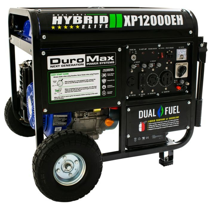 DuroMax XP12000EH : Best Dual Fuel Portable Generator